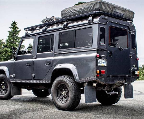Land Rover Defender Hire Mombasa
