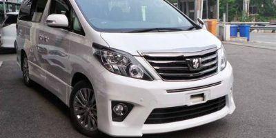 Toyota Alphard Hire Mombasa