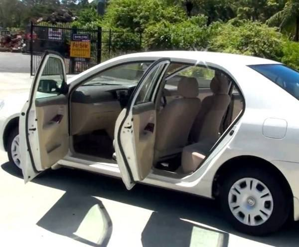 Toyota Corolla Nze Hire Mombasa