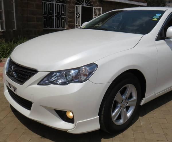 Toyota Mark X Hire Mombasa